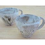 粉引のマグカップ